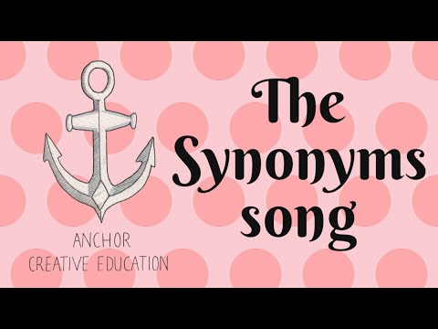 The Synonyms Song