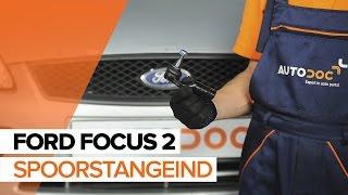 Montage Spoorstangkogel FORD FOCUS: videotutorial