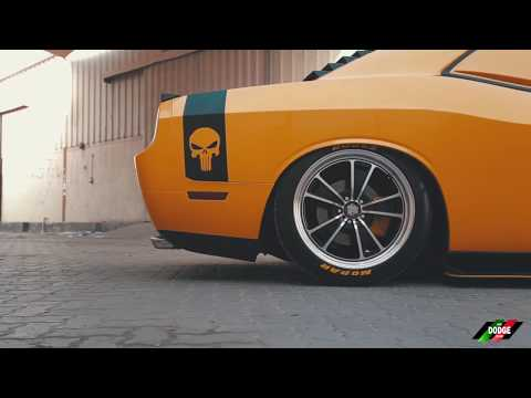 Punisher - Bagged Dodge Challenger Hemi in UAE