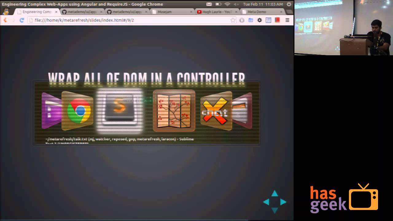 kapil verma engineering complex web apps using angular and requirejs youtube