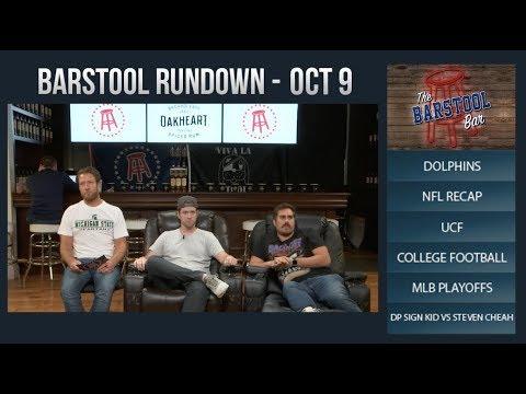 Barstool Rundown - October 9, 2017