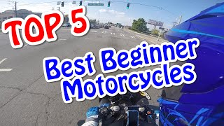 Top 5 Best Beginner Motorcycle!