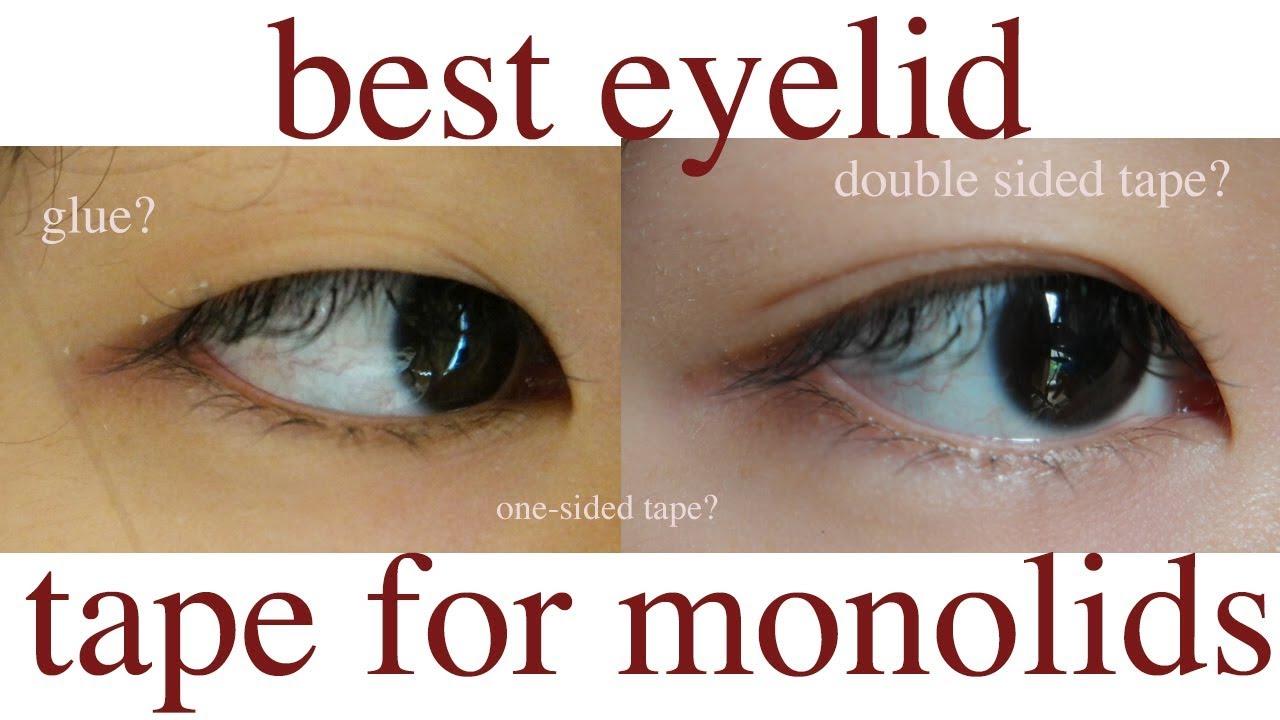 Best Eyelid Tape for Monolids
