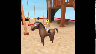 Roblox HOP ON THAT HORSE animation