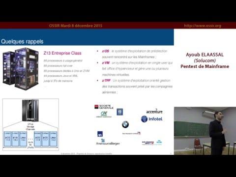 2015-12-08 Pentest de Mainframe