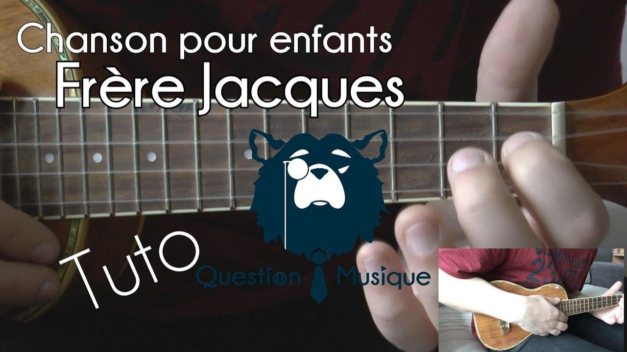 Ukull Chanson Pour Enfants Frre Jacques Tuto Chords Chordify