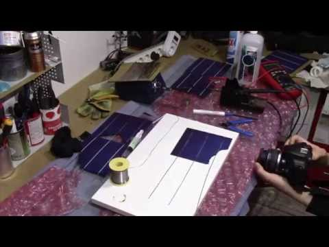 PROJECT LOG: DIY solar panels, part 1