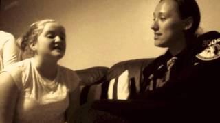 Levi & I singing Ave Maria-Beyonce
