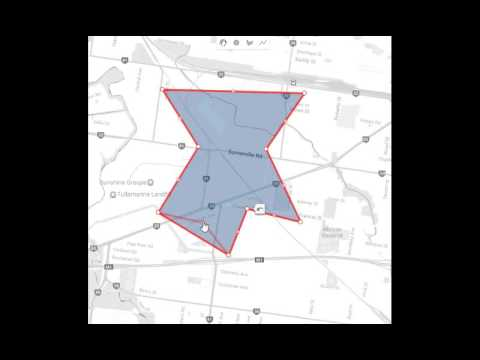 Editable GoogleMaps Polygon