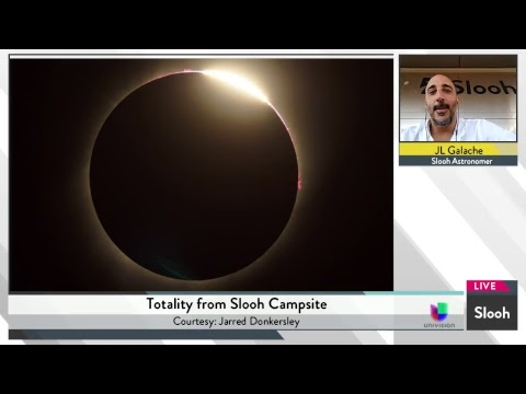 The Transcontinental Total Solar Eclipse: Spanish Language