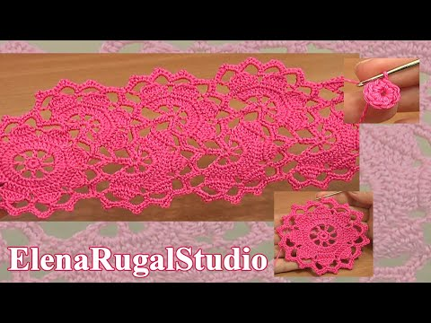 How To Crochet Wide Lace Tape