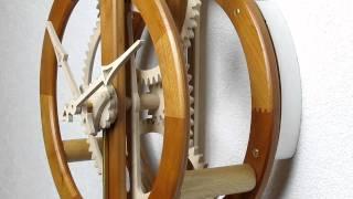 Primus-wooden Clock