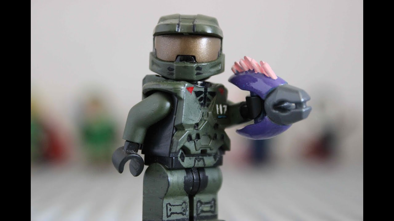 Custom Lego Halo Master Chief Youtube
