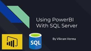 walkthrough: SQL Server DirectQuery with Power BI