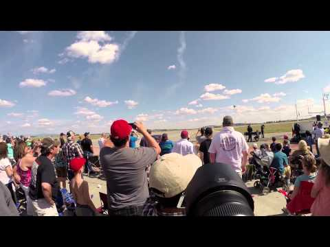 Skyfest 2014 @Fairchild AFB with GoPro