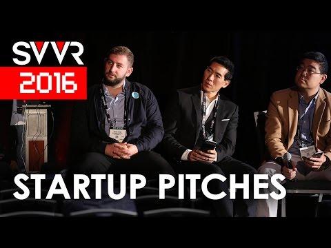 Startup Pitches | SVVR 2016