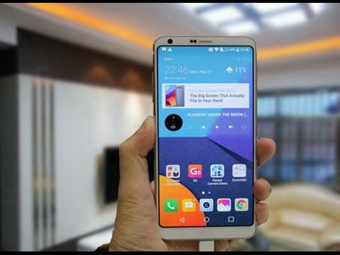Lg G6 Unboxing And First Impressions! (4K) - LG G6 Unboxing And First Impressions! (4K)_Clip(1)