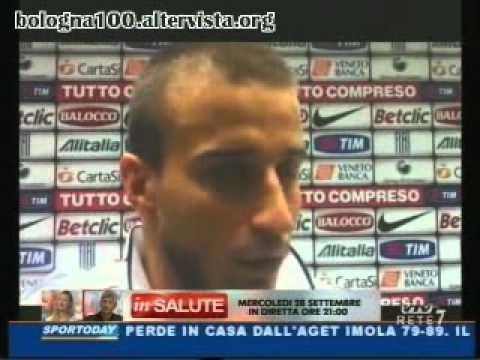 Bologna FC 1909 21/09/2011 Juventus — Bologna 1-1 Casarini nel dopo gara