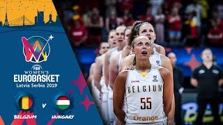 Belgium v Hungary - Full Game - FIBA Women's EuroBasket - Final Round 2019
