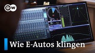 Sounddesigner: Wie soll ein Elektroauto klingen?   Made in Germany