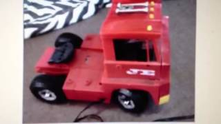 Johnny Express 1960s Toy Truck For Sale On Ebay