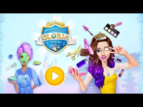 Princess Gloria Makeup Salon - Best Friends Spa - TutoTOONS Games For Kids