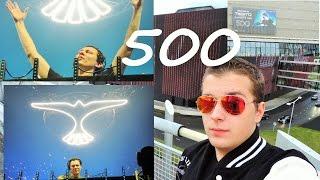 Vlog 5 ● Tiesto ClubLife 500 (Amsterdam Ziggo Dome)