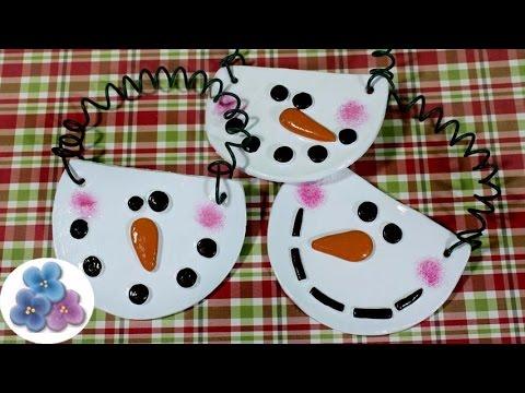 Adornos navide os mu ecos de nieve para navidad con - Adornos para navidad 2015 ...