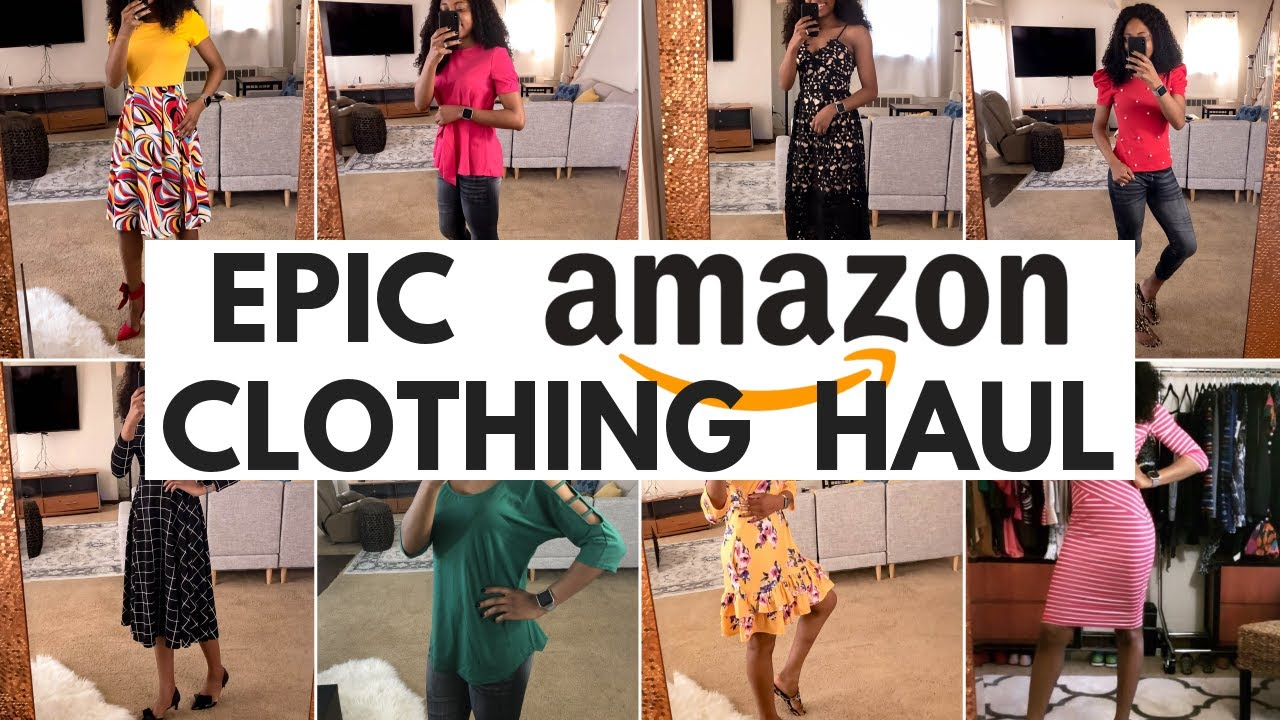 Epic Amazon Fashion Haul 2019: The Best Amazon Try-On Haul and Review
