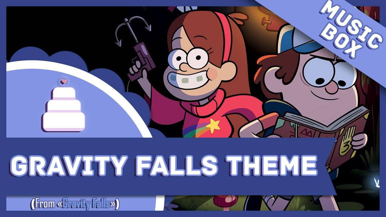 Google gravity theme -  Music Box Gravity Falls Theme