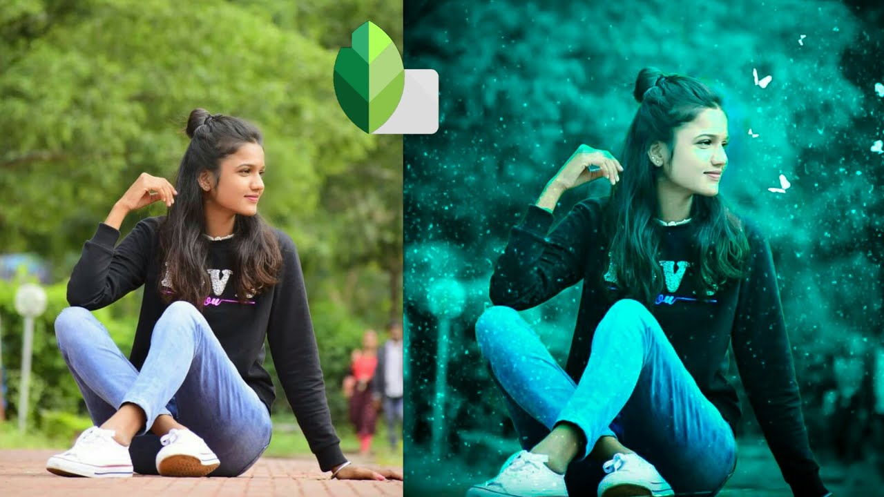New snapseed Photo Editing Trick | Snapseed background ...