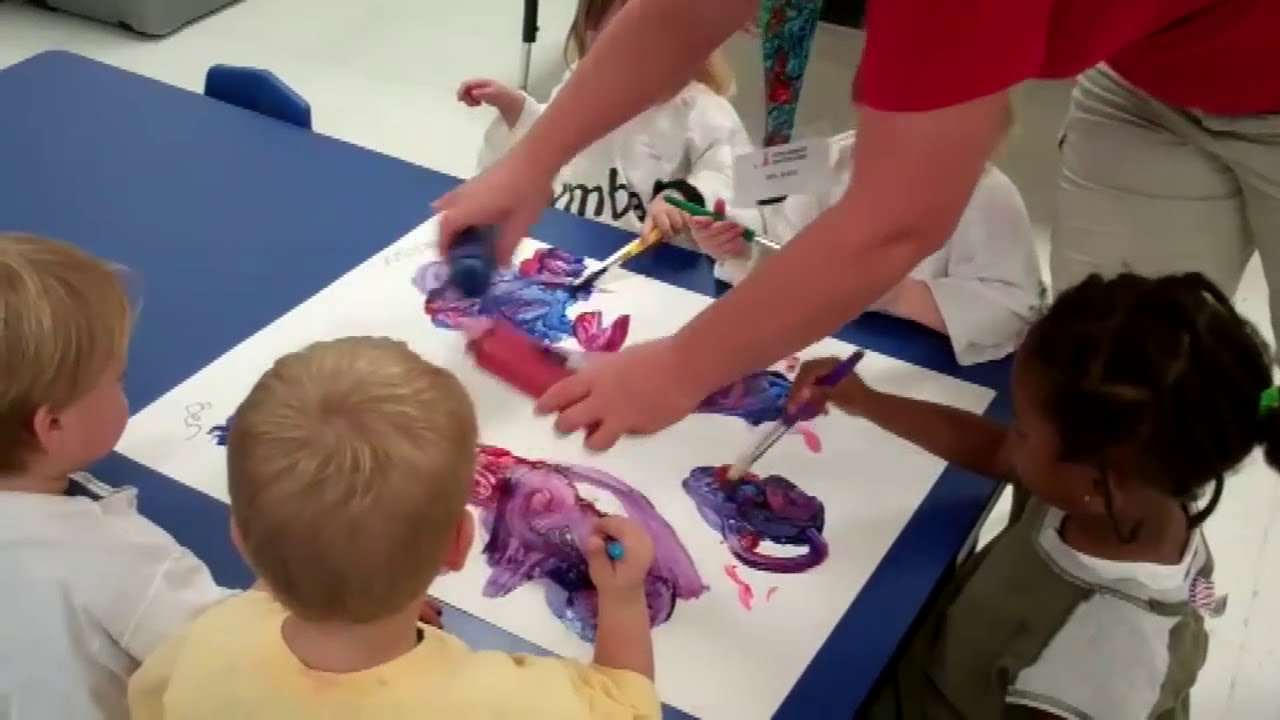 Art projects by our 2 year olds youtube for Painting ideas for 4 year olds