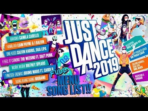 Just Dance 2019 Menu Song List! | Full Song List Mp3