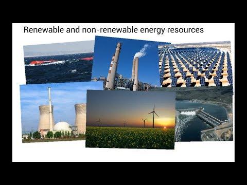 Energy Resources - IGCSE Physics