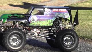 1/4 Scale Grave Digger Part 24 with Stinger 609