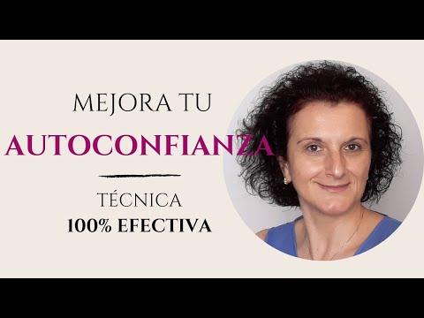 Cómo mejorar tu AUTOCONFIANZA   TÉCNICA 100% efectiva