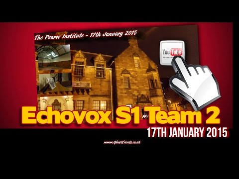Public Echovox Session: Pearce Institute - Team 2 (S1)