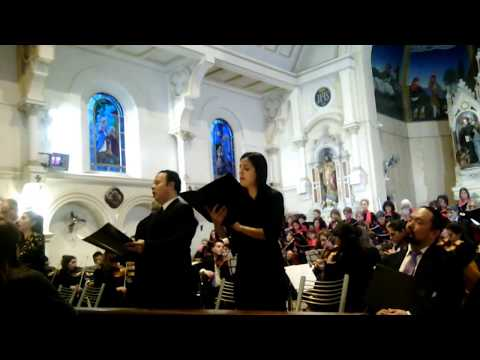 """Schubert.""""Misa en Mi b Mayor. Orquesta Radio Amadeus. Benedictus."""