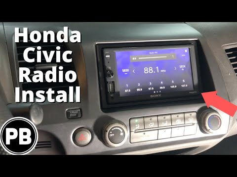 2006 - 2011 Honda Civic Touch Screen Stereo Install