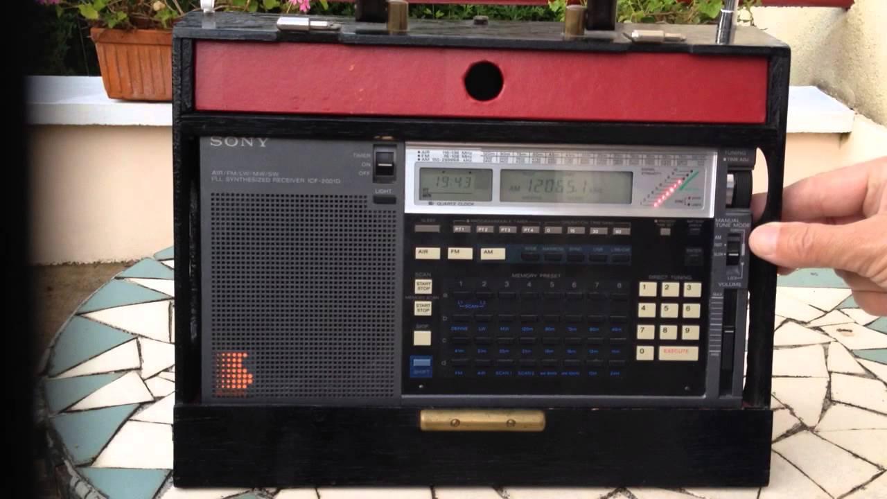 Sony icf-2001 manual portable radio hifi engine.