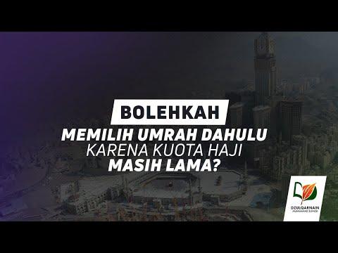 2 Tanda Kemabruran Haji / Umrah.