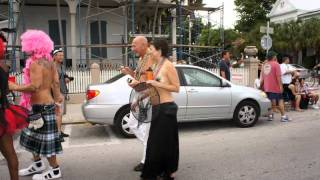 Key West Florida -  Fantasy Fest 2011