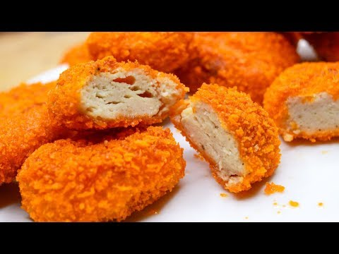 Homemade Chicken Nuggets Recipe | How To Make Chicken Nuggets | Chicken Nuggets Recipe | Easy Snacks