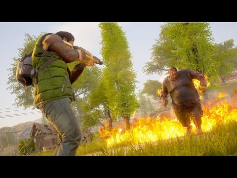 NEW Open World Zombie Apocalypse Survival Crafting Campaign Map - State of Decay 2 Juggernaut Edt. - 동영상
