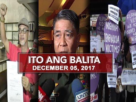 UNTV: Ito Ang Balita (December 05, 2017)