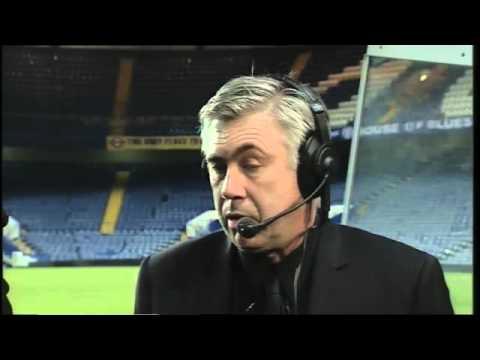 Chelsea FC - Ancelotti on Ipswich