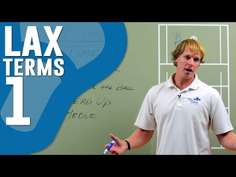 Lacrosse Lingo and Common Terms (Part 1)