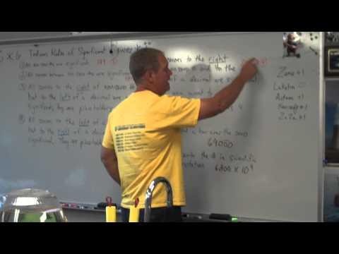 Identifying Significant Figures - 8th grade Wichita Collegiate School