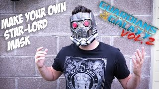 Guardians of the Galaxy Star-Lord Mask | How to 3D Print and Assemble