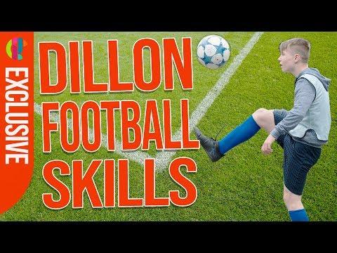 Jamie Johnson | Around The World Football Trick with Dillon